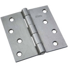 National 4 In. Square Steel Broad Door Hinge Image 1