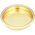 National 1-3/4 In. Dia. Brass Cup Pocket Door Pull Image 1