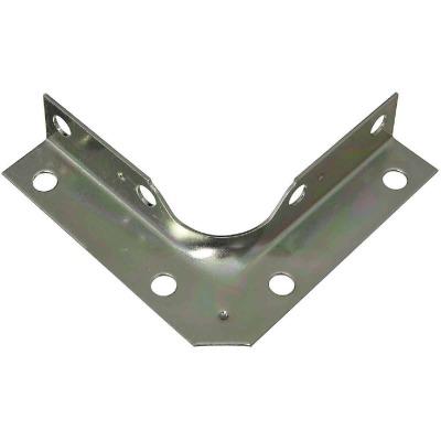 National Catalog V114 Series 3 In. x 5/8 In. Zinc Corner Brace (4-Count)