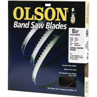 Olson 93-1/2 In. x 3/8 In. 4 TPI Skip Flex Back Band Saw Blade