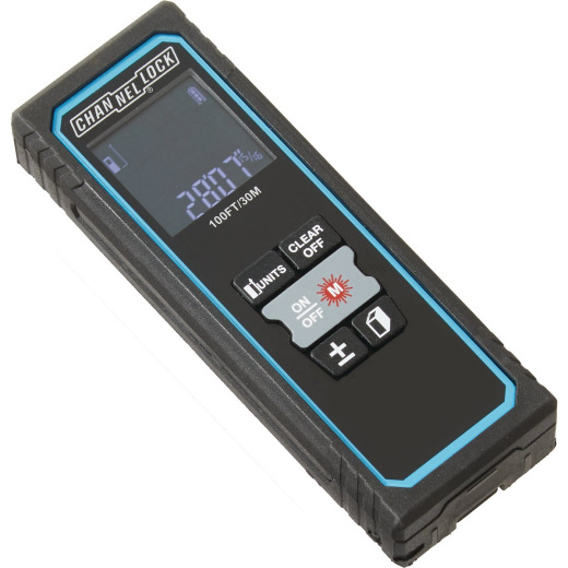 Channellock 100 Ft. Compact Laser Distance Measurer
