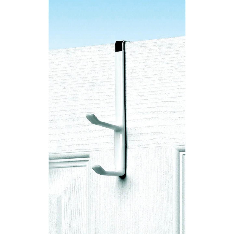 Spectrum White Over-The-Door Double Hook Image 1